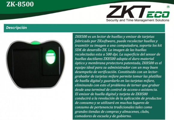 ZKTECO ZK8500R