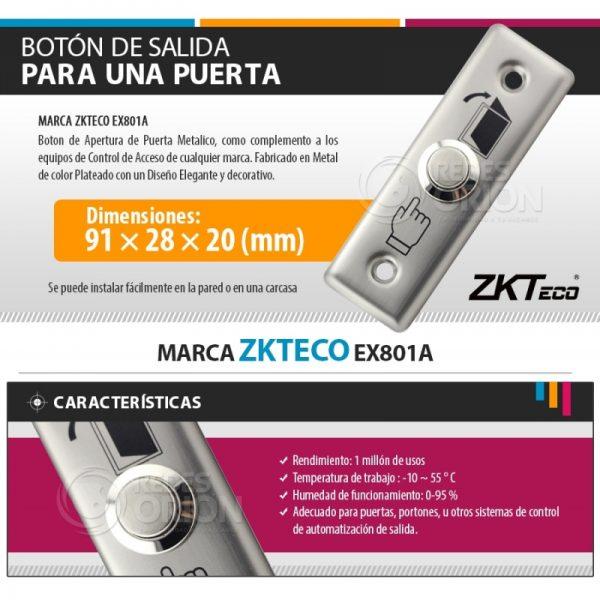 ZKTECO EX-801A