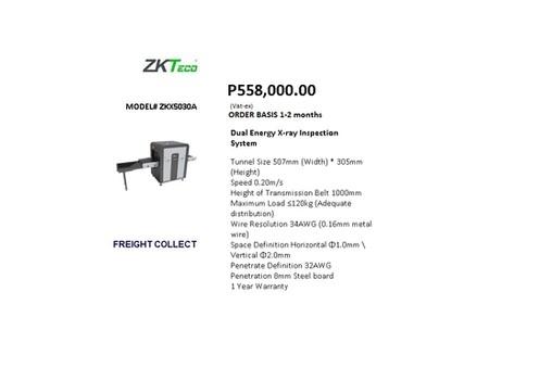 ZKTECO ZKX5030A