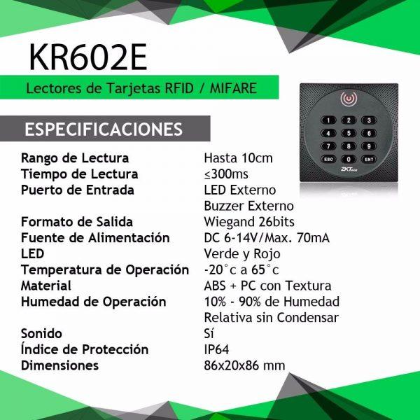 ZKTECO KR602E