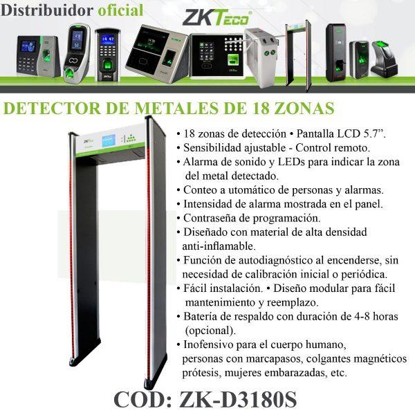 ZKTECO ZK-D3180S
