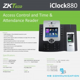 ZKTECO ICLOCK880/ID